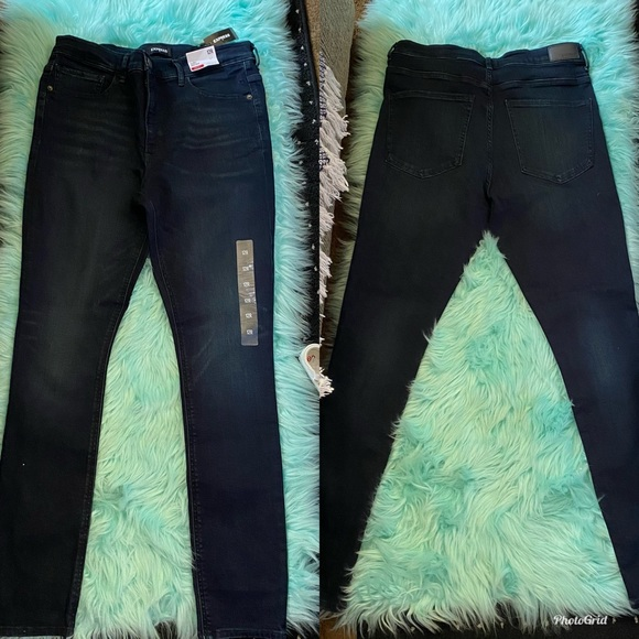 New Express Skinny High Rise Jeans